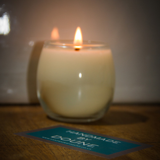 Natural Wax Candles, Edinburgh