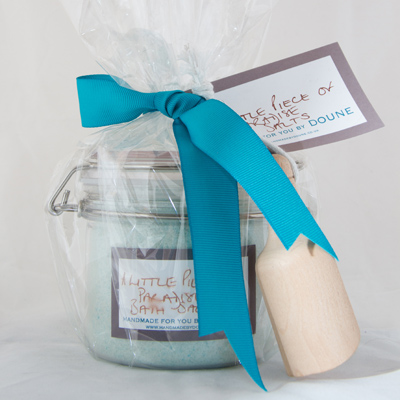 Organic Bath Salts Edinburgh